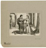 [Hamlet, four scenes, act I scene 3, act II scene 2, act III scene 1, act III scene 4] [graphic] / J.P.