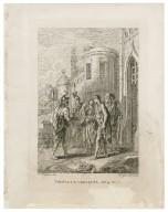 Troilus & Cressida, act 4, sc. 7 [i.e. 4] [graphic] / F. Hayman inv. ; H. Gravelot sculp.