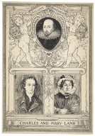 William Shakespeare ; Charles and Mary Lamb [graphic] / [Louis Rhead].