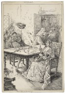 Taming of the shrew, Petruchio entertains his wife at dinner [graphic] / Louis Rhead.