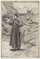 Tempest, Ariel: Full fathom five thy father lies [graphic] / Louis Rhead.