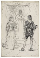 All's well that ends well. I dare not say, my lord. I take you [graphic] / Louis Rhead.