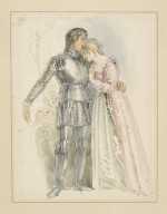 Henry IV [pt. 1, act II, sc. 3, Hotspur and Lady Percy] [graphic].