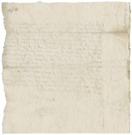 Letter from Anthony Kynnersley, Loxley, to Walter Bagot
