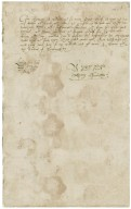 Letter from Anthony Kynnersley, Loxley, to Harvey Bagot