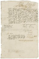 Letter from Anthony Kynnersley, Uttoxeter, to Walter Bagot