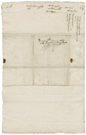 Letter from Francis Kynnersley to Walter Bagot