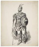 Mr. J.H. Barnes as Macbeth [graphic] / M. Stretch, Novr. 1, 1882.