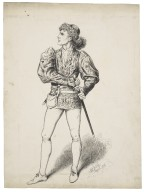 Mr. Forbes-Robertson as Romeo [graphic] / M. Stretch, April 1881.