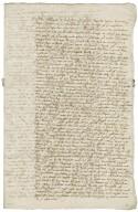 Letter from Edward Moreton, Stafford, to Walter Bagot