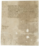 Letter from Dorothy Okeover, Snelston, to Walter Bagot