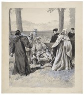[The revival of Richard II at His Majesty's Theatre] [graphic] / [Paul Thiriat].
