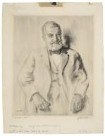 Henry Clay Folger, portrait [graphic] / [Walter Ernest Tittle].