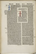 Bible. Latin. 1502.