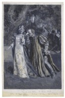 Much ado about nothing, I, 3: Miss Winifred Emery as Beatrice, Mr. Tree as Benedick, played at His Majesty's Theatre [graphic] / [Frederick Henry Townsend].