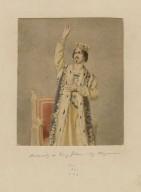 Macready as King John [graphic] / [Thomas Charles Wageman].