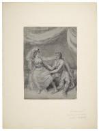 Mrs. Yates & David Garrick in Antony and Cleopatra [graphic].