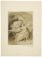 [The tempest, Ferdinand and Miranda, act 5, scene 1] [graphic] / [Francis Wheatley].