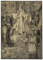 [Lear with Cordelia dead in his arms] [graphic] / Louis Rhead.