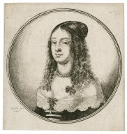 [Woman with hair parted in center] [graphic] / W. Hollar fec. 1646.