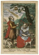 Humanas recreo mentes, v[o]lucres[que] feras[que], omnia floriferi laetantur tempore veris [graphic] / Crispin de Pas, inuentor et excud. ; Magdalena vande Pas, sculp.