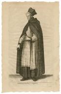 Canonicus regularis Sti. Augustini [graphic] / W. Hollar fecit.