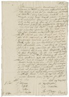 Letter from the Privy Council, Whitehall to unidentified recipient, July 6, 1613 : copy