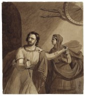 [Macbeth and Lady Macbeth] [graphic] / S. J. Stump.
