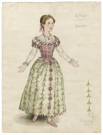 Costume for Miranda, the Tempest