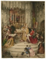 King Henry VI, pt. II, I, 1, marriage of King Henry and Queen Margaret [graphic].