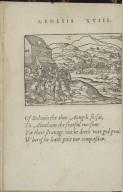 [Quadrins historiques de la Bible. English] The true and lyuely historyke purtreatures of the vvoll Bible.