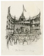 The Theatre: the first purpose-built public playhouse (James Burbage, 1576)