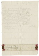 Letter from Jane (Skipwith), Lady Throckmorton, to Lewis Bagot