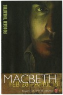 Production of Macbeth directed by Aaron Posner and Teller. [theater program]