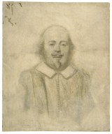 Portrait of Shakespeare, after Stratford bust [graphic] / [Thomas Nast].