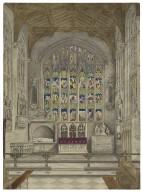 [East window of Trinity Church, Stratford-upon-Avon] [graphic].