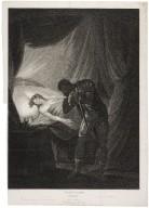 ...Othello, act V, scene II, Desdemona in bed asleep... [graphic] / painted by Josiah Boydell ; engraved by Willm. Leney.
