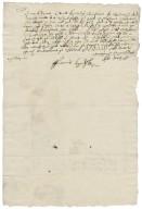 Letter from Edmund Waring to Walter Bagot