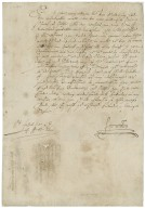 Letter from H. Weston, St. Johns, to Walter Bagot