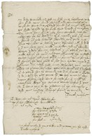 Letter from James Wilson to Walter Bagot
