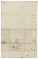 Letter from Thomas Worswick, Stafford, to Walter Bagot