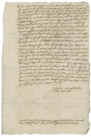 Letter from Thomas Worswick, Stafford, to Walter Bagot : copy