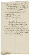 A note of armor seized from Francis Gatacre (Gatigarres) and Hugh Erdeswicke and remaining in Richard Bagot's hands