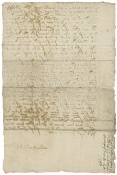 Petition to the Earl of Shrewsbury, January 25, 1588/89 : copy