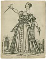 Mrs. Shepherd as Lady Macbeth [graphic].