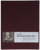 William Shakespeare first folio, 1623 : the Dr. Williams's library copy.