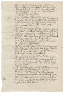 Deposition of John Copleston in the Hubbard piracy case overseen by Nathaniel Bacon and Ralph Shelton