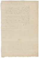 Deposition of John Bartholomew in the Hubbard piracy case overseen by Nathaniel Bacon and Ralph Shelton