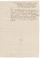 Deposition of Jasper Browne overseen by Nathaniel Bacon and Ralph Shelton