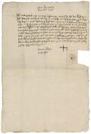 Deposition of John Rudde against John Ferrour
